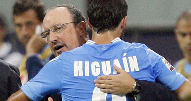 Gira voce di una furiosa lite fra Benitez  e Higuain allo Juventus stadium