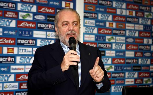 De Laurentiis pronto a stanziare un premio per battere l'Inter