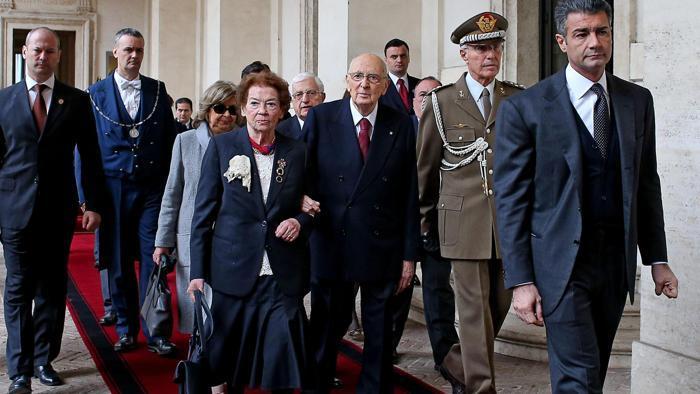 FINISCE OGGI LA PRESIDENZA PIU' LUNGA DELLA STORIA DELLA REPUBBLICA - Giorgio Napolitano lascia il Quirinale