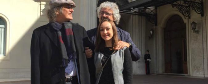GRILLO incontra il neo Presidente MATTARELLA :
