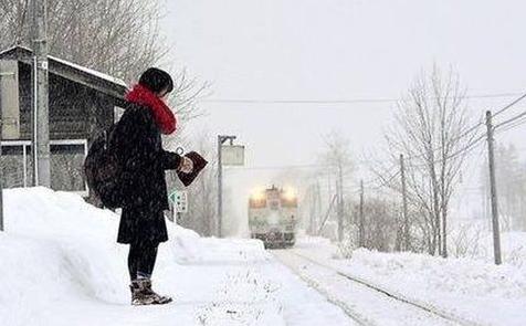 Giappone: stazione ferroviaria resta aperta per un'unica passeggera.
