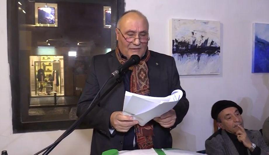 Felice Zinno, presenta una silloge di 52 poesie 'Tempus' al Palazzo delle Arti di Napoli